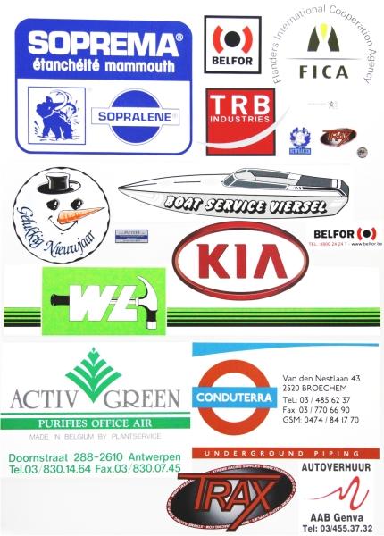Stickers Varia Communication Bvba